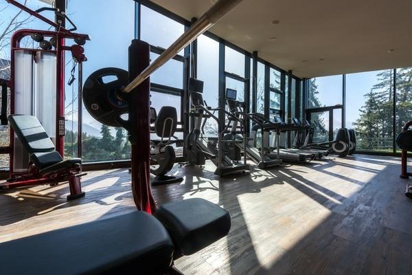 Crans-Ambassador-Hotel, Schweiz, Fitnessstudio