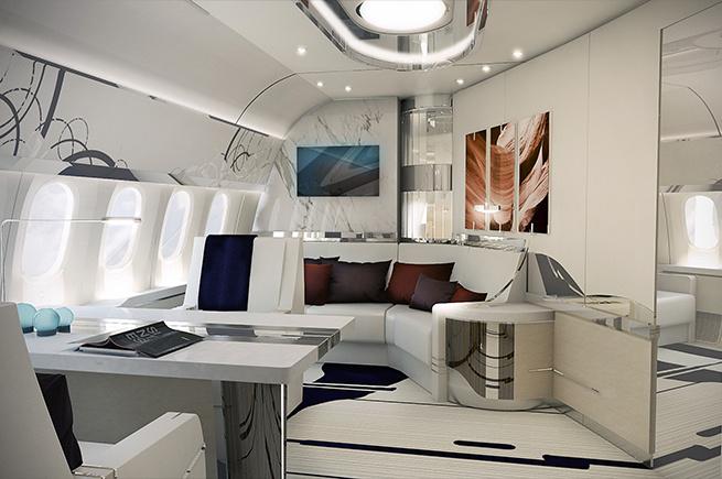 Privatjet Boeing 787-9 Dreamliner, VIP Master Suite