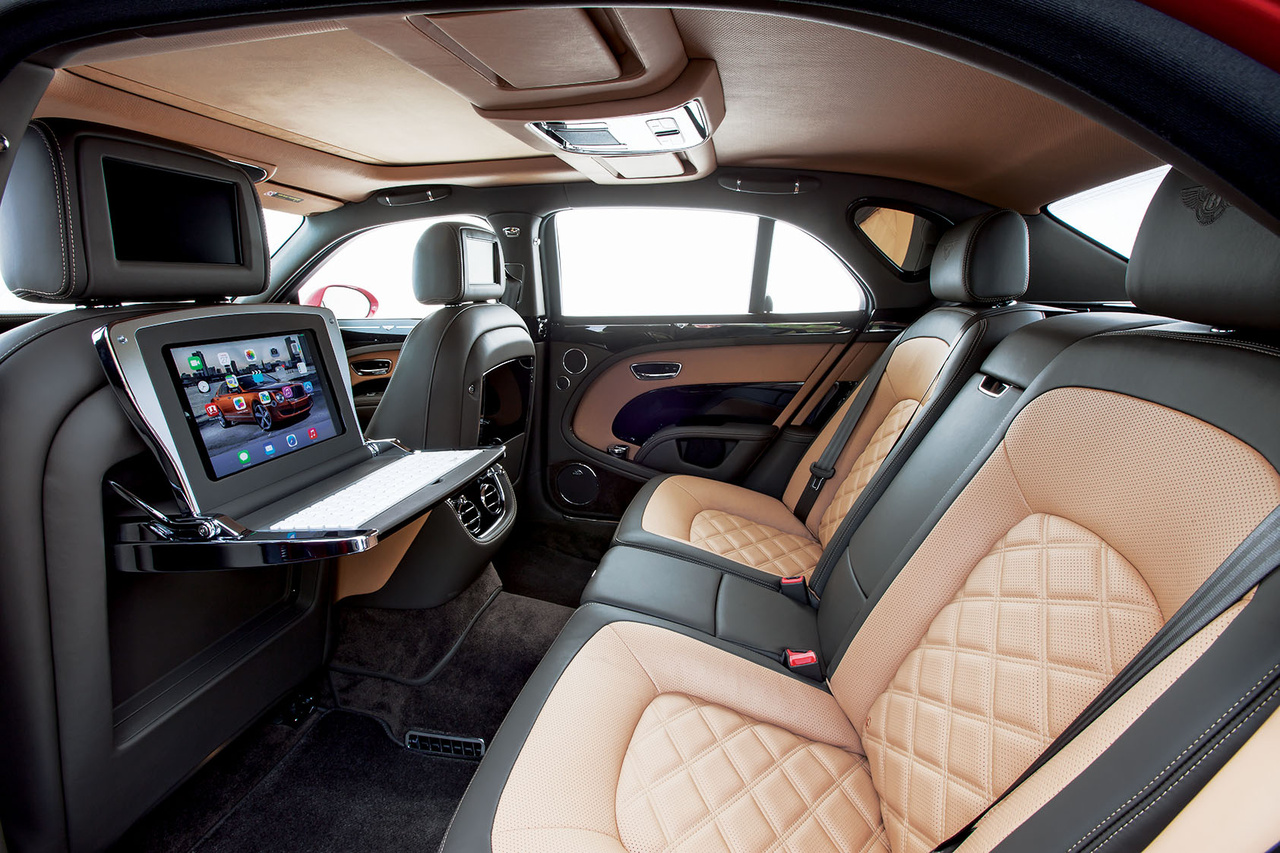Ausstattung des Bentley Mulsanne Speed