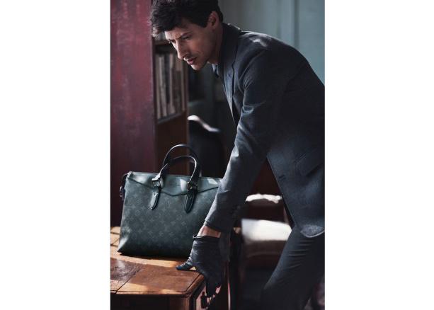 Businesstasche aus Leder von Louis Vuitton