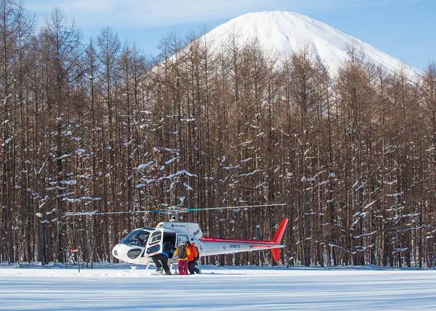 Ski-Abenteuer mit dem Heli