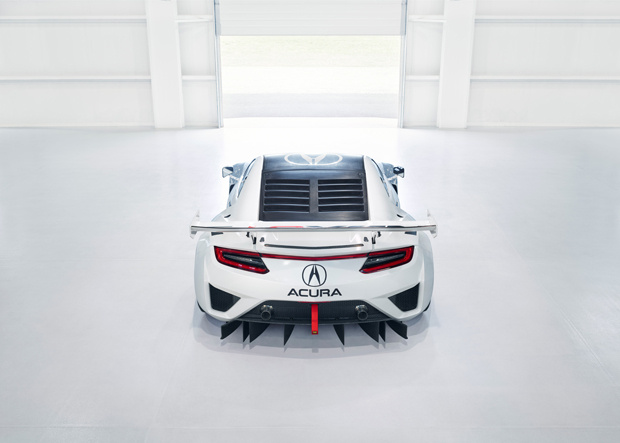 Acura NSX GT3 Heck