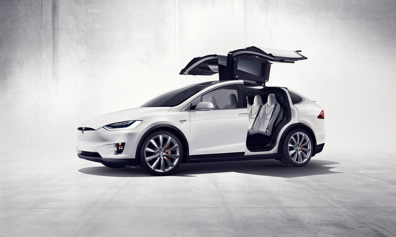 Tesla-Model-X, Flügeltüren