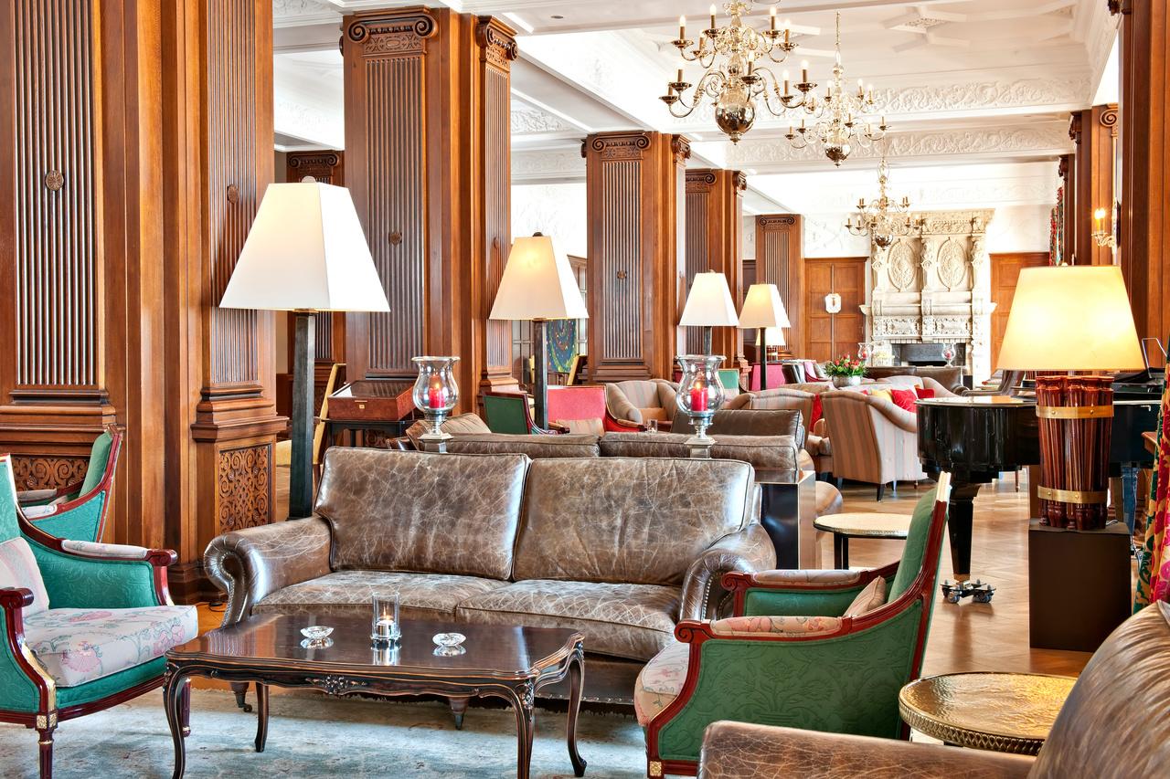 Carlton, Schweiz, Lobby, Lounge
