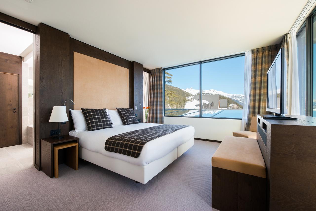 Crans-Ambassador-Hotel, Schweiz, Suite