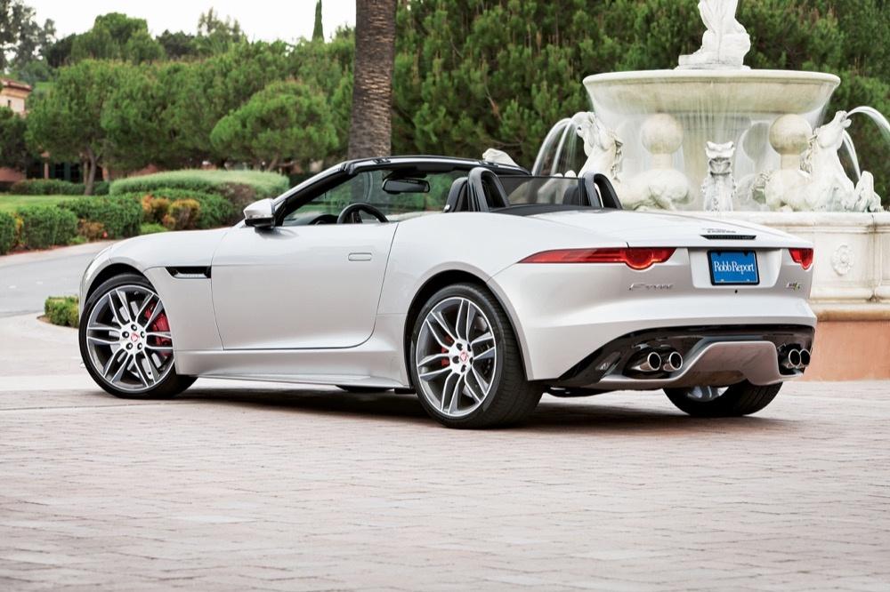 Auto Des Jahres Jaguar F Type R Cabriolet Robb Report