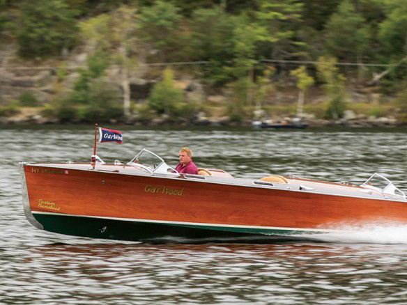 GarWood Speedboat Seitenansicht