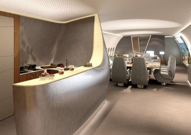 A350 VIP-Kabine, VIP-Kabine, VIP-Flieger, Lufthansa Technik