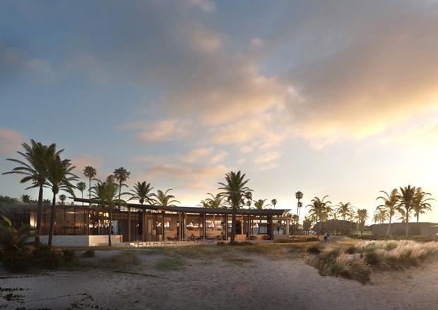 Four Seasons Resort Landschaft